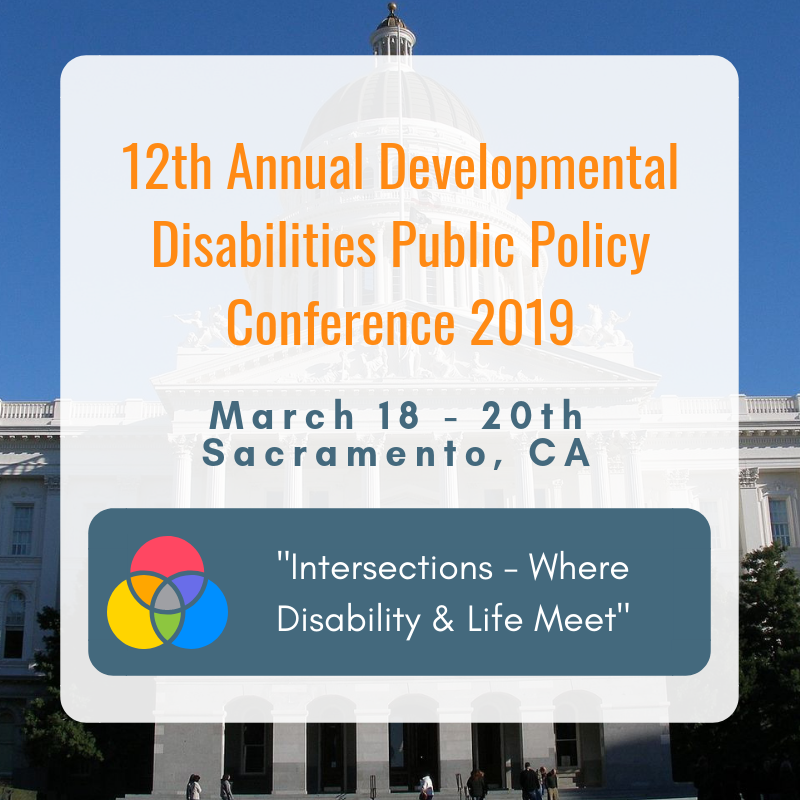 LAST CHANCE – Register This Week for the Developmental Disabilities Public Policy Conference