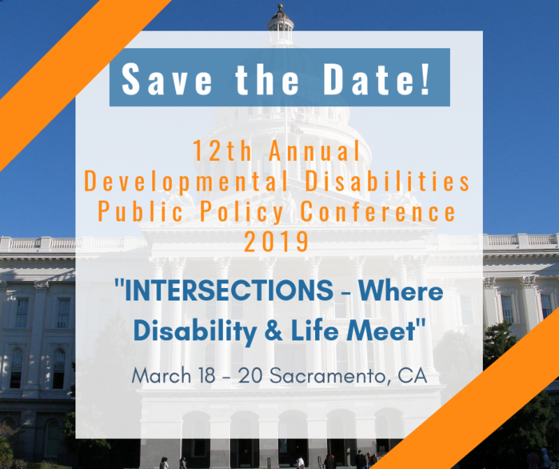 Announcing the 12th Annual Developmental Disabilities Public Policy Conference