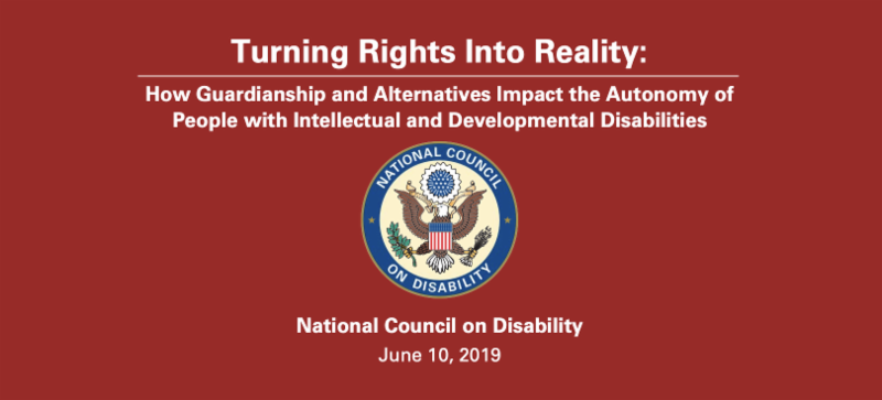 National Council on Disability – Turning Rights Into Reality