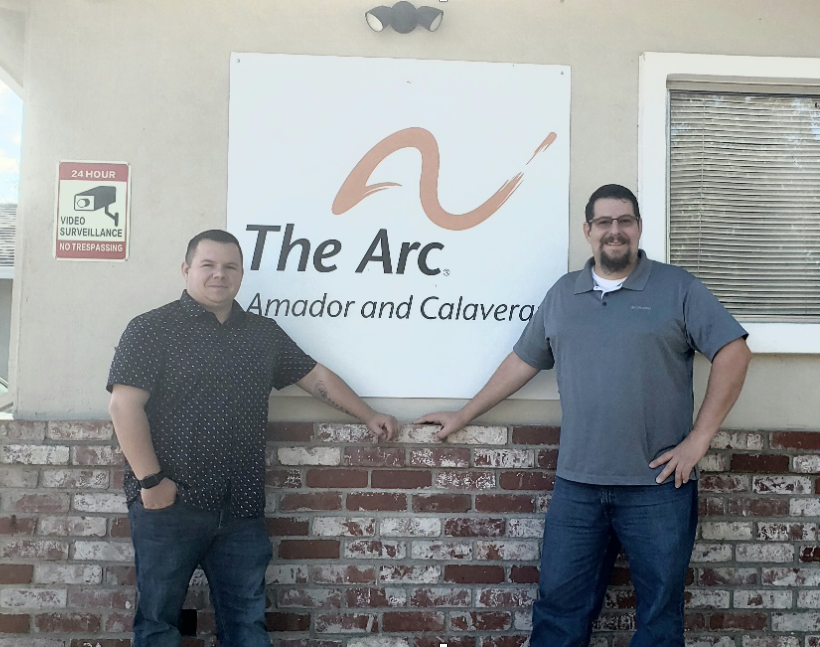 Star DSPs Leo Parks and Joe DuBois from The Arc of Amador and Calaveras