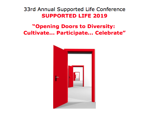 33rd Annual Supported Life Conference is Coming Up