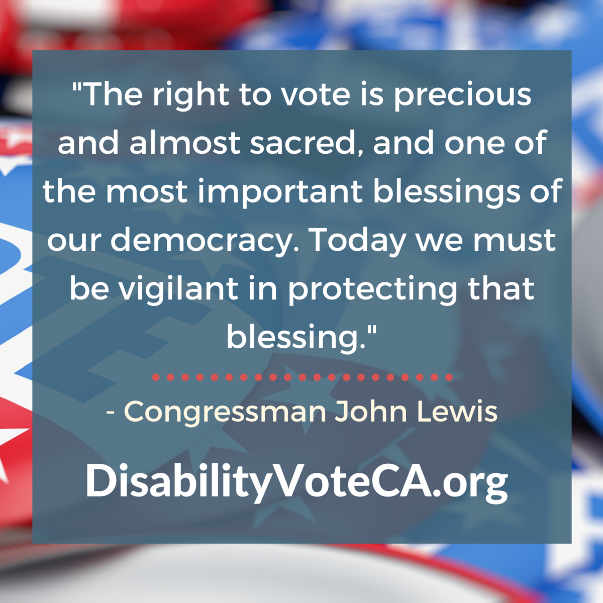 John Lewis Vote Quote