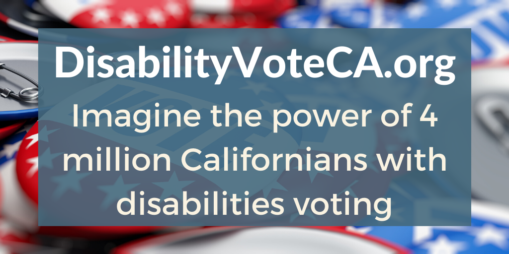 National Disability Voter Registration Week – What are You Voting For?