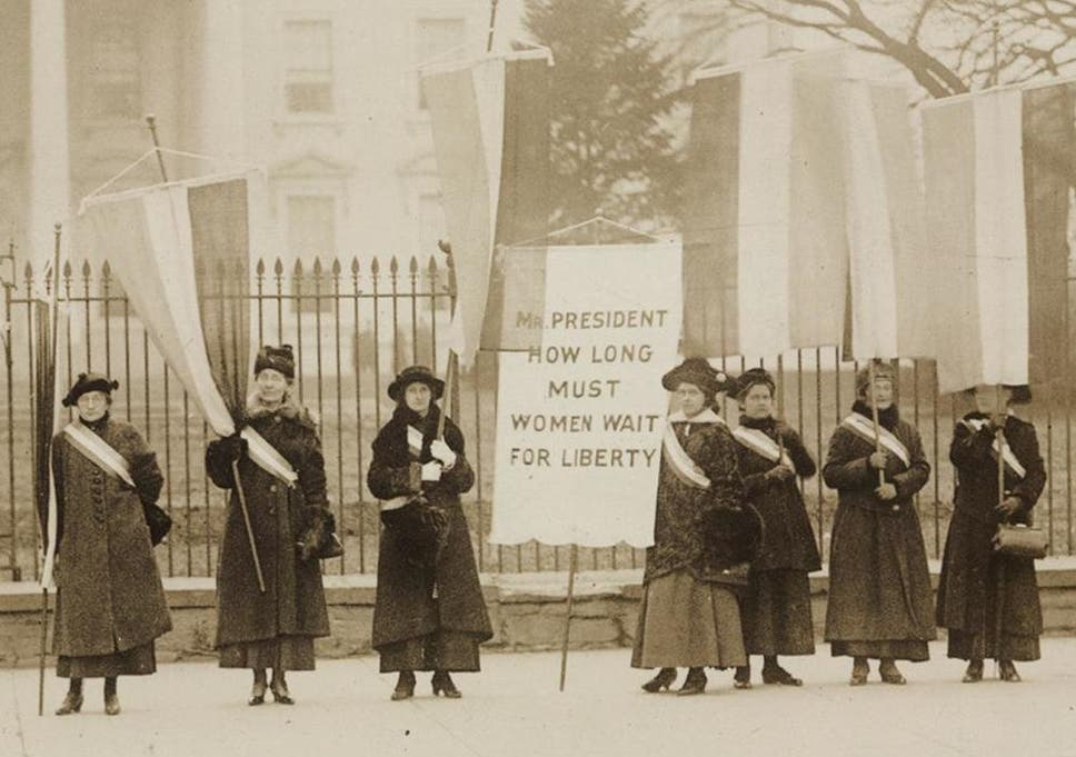 History Suffrage